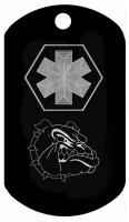 Bull Dog Kid Medical Dog Tag