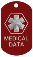 Medical Data Dog Tag
