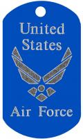 Air Force Engraved Dog Tag T611